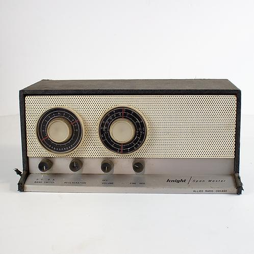 Knight Span Master Radio Receiver 50s-60s