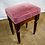Thumbnail: Low Pub Stools with Pink Cushion Cover