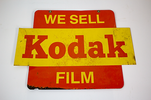 Retail Kodak Film Sign