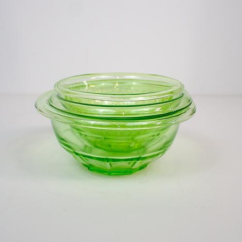 Light Green Glass Bowls