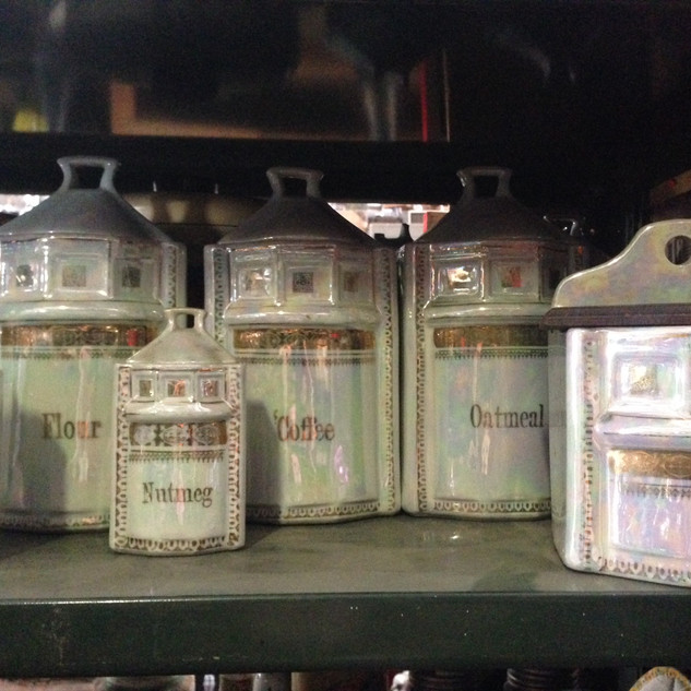 Kitchen cannisters