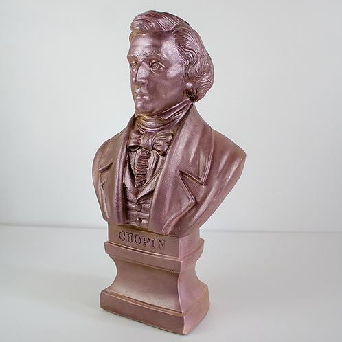 Chopin Cast Stone Bust