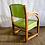 Thumbnail: Green Wooden Armchair