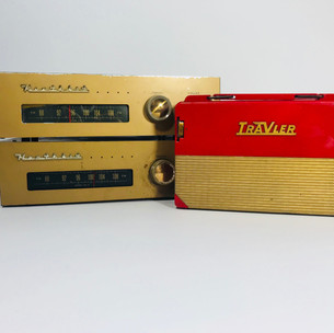 Healthkit Radio (2 available , left) Travler radio (right) Not Available