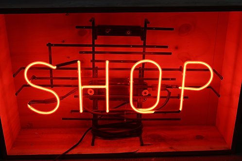 Shop Red Neon Sign