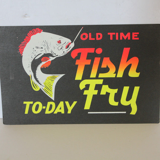 Fish Fry Sign
