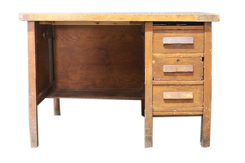 Two Sided Wooden Desk