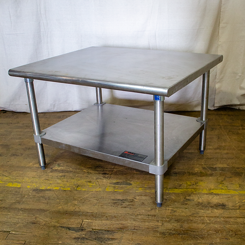 Low Steel Utility Table