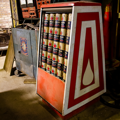 Havoline Motor Oil Display