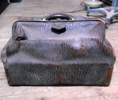 Leather Grain Doctor's Bag