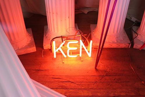 Ken Neon Sign