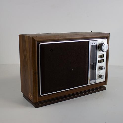 Sony Wood Radio 1980s