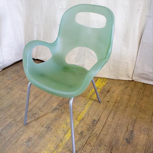 Seafoam Green Plastic Chair