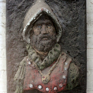 Medieval Relief Portriat