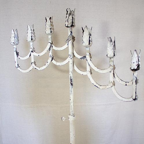 White Standing Candelabra