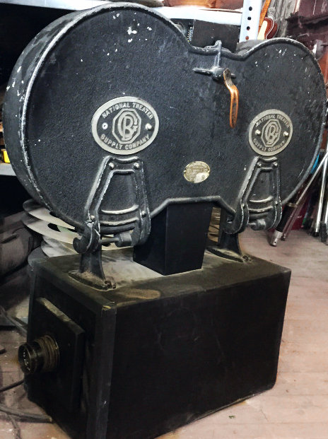 Large Reel to Reel Film Projection Camera