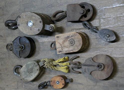 Wood Pulleys