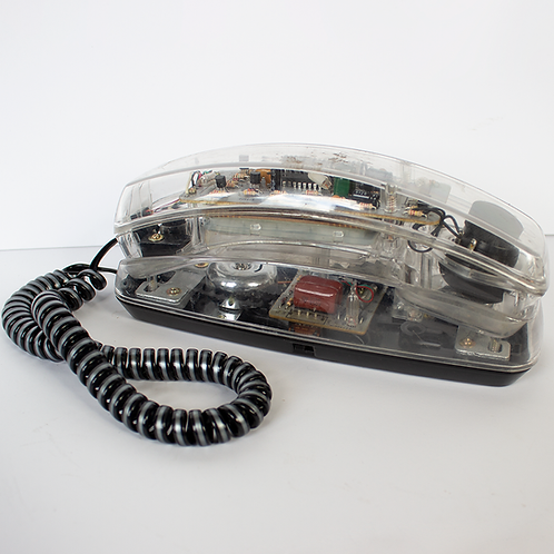 Spectra-Phone Clear Telephone 1970s