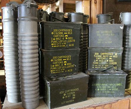 Ammo Boxes - Medium Size