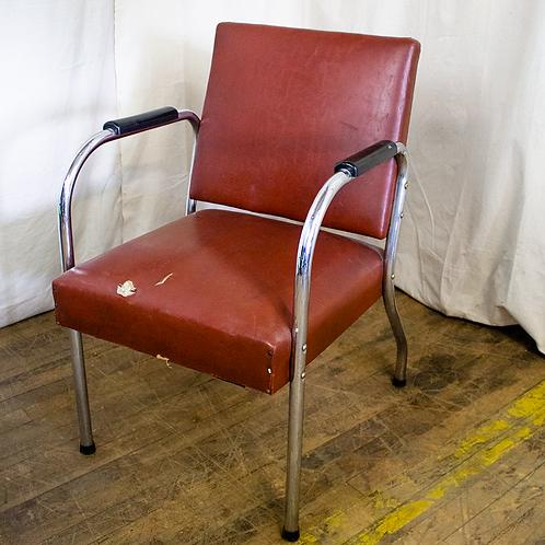 Red Salon Chair