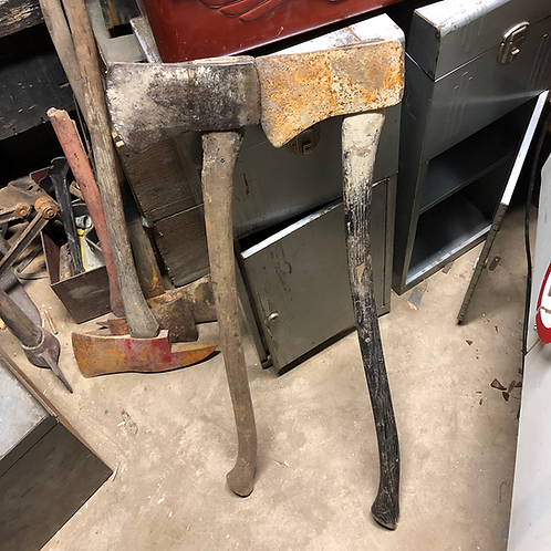 Old Rusty Axes