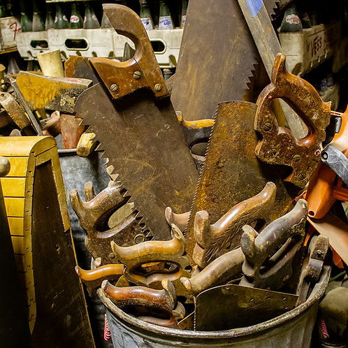 Various Hand Saws
