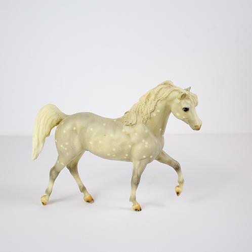White Model Horse Figurine