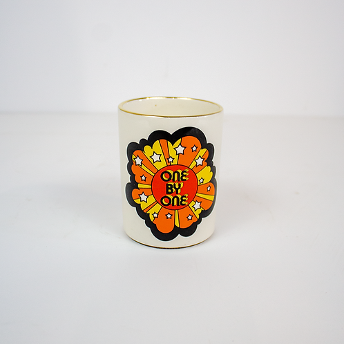 70's Graphic Planter/Pencil Cup