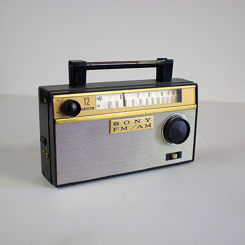 Sony 12 Transistor Radio 1960s