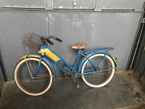 Donald Duck Blue Bike