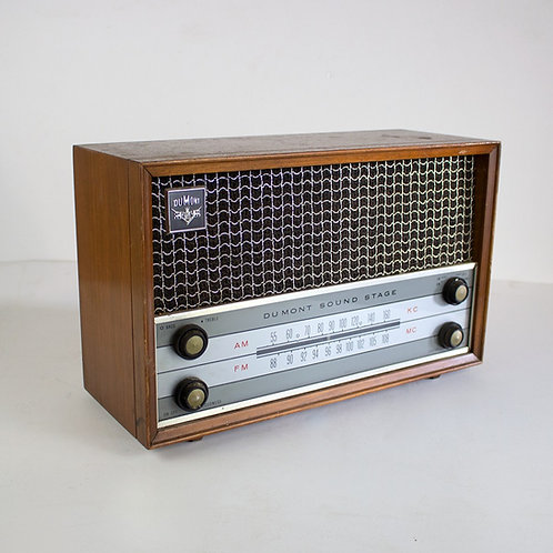 Dumont Sound Stage Radio 1950s