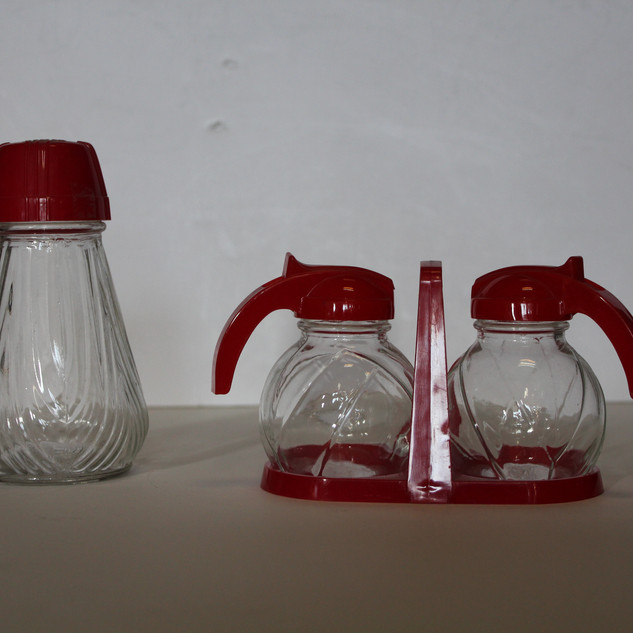 Red Syrup Caddy