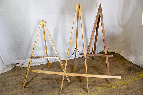 Medium A-Frame Wooden Easels