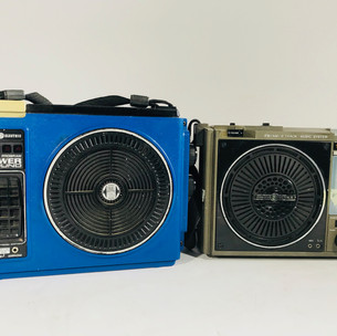 Genral Electric Boom boxes