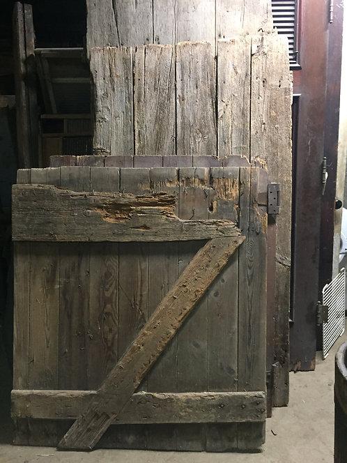 Salvage Wood Barn Door Pieces