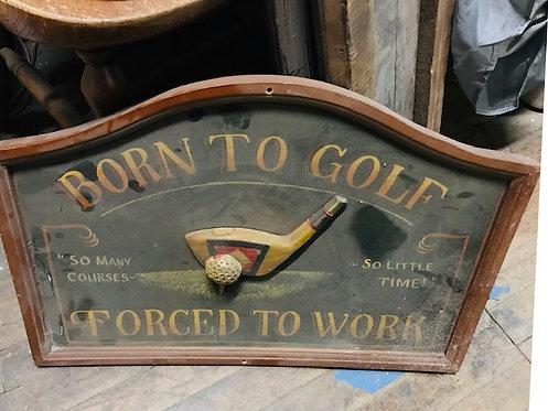 Novelty Golf Sign
