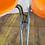Thumbnail: Orange Interlocking Fiberglass Chairs