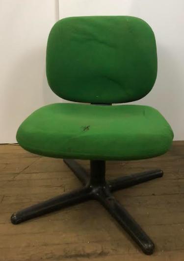 Low Green Office Swivel Chair