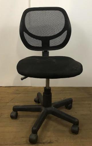 Modern Black Office Swivel Chair