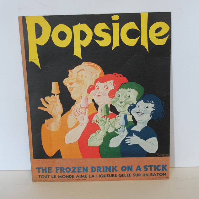 Popsicle- The frozen drink on a stick