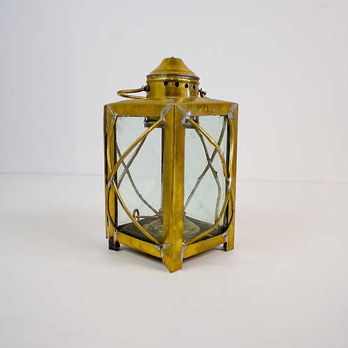 Brass Nautical Inspired Lantern