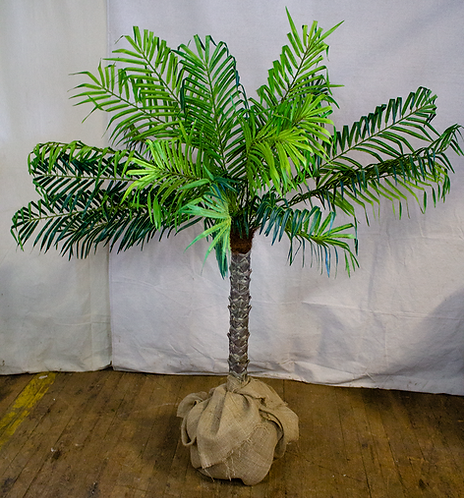 4.5ft Artificial Palm Tree