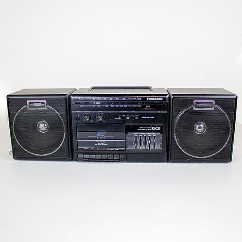 Black Panasonic Boombox
