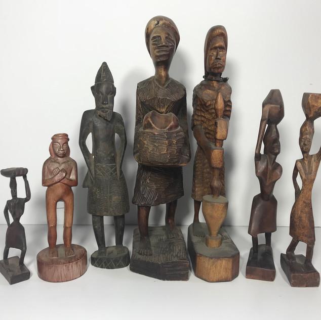 Tribal statuary