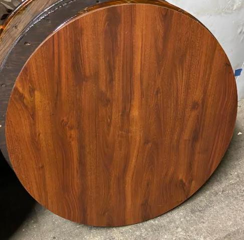29.5 Inch Diameter Wood Table Top