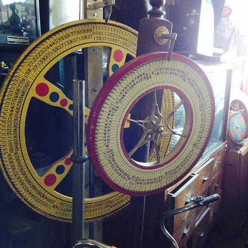 Large Freestanding Gaming Wheels