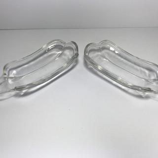 Clear Glass Banana Split dishes