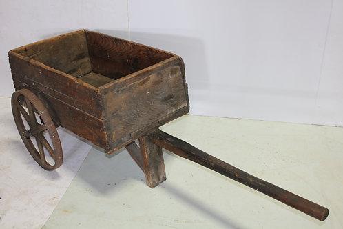 Vintage Wooden Pull Cart