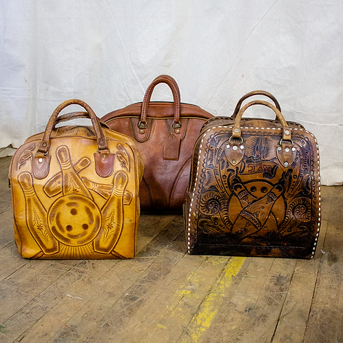 Leather Bowling Bags