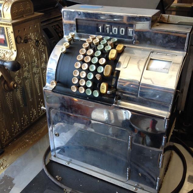 Silver Cash Register